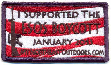 ESOS Boycott – Commemorative Patch